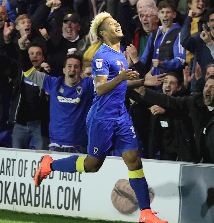 Lyle's Hat-Trick Is A Dons' First