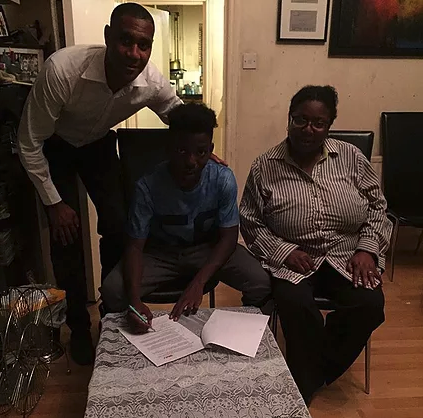 SMI Sign Promising Youngster Terrell