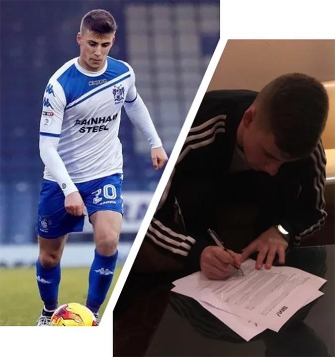SMI Sign Bury FC's Scott Burgess