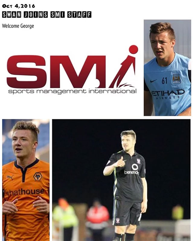 George Swan joins the SMI Staff...