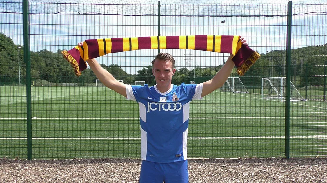 Tony McMahon Signs for Bradford City