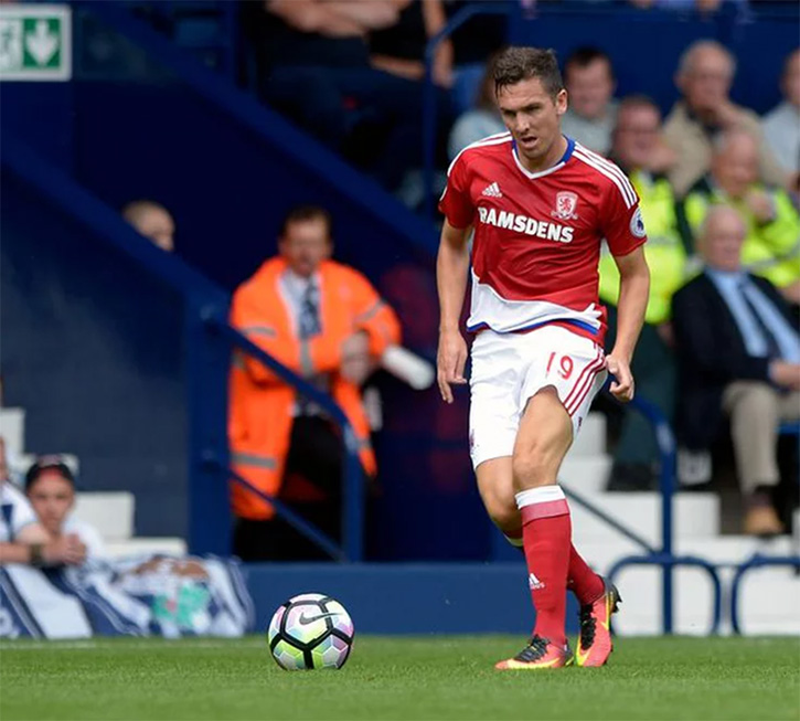 Middlesbrough's Stewart Downing signs for SMI
