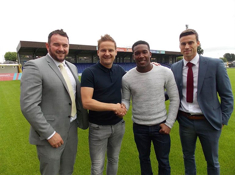 Dom Poleon signs for AFC Wimbledon