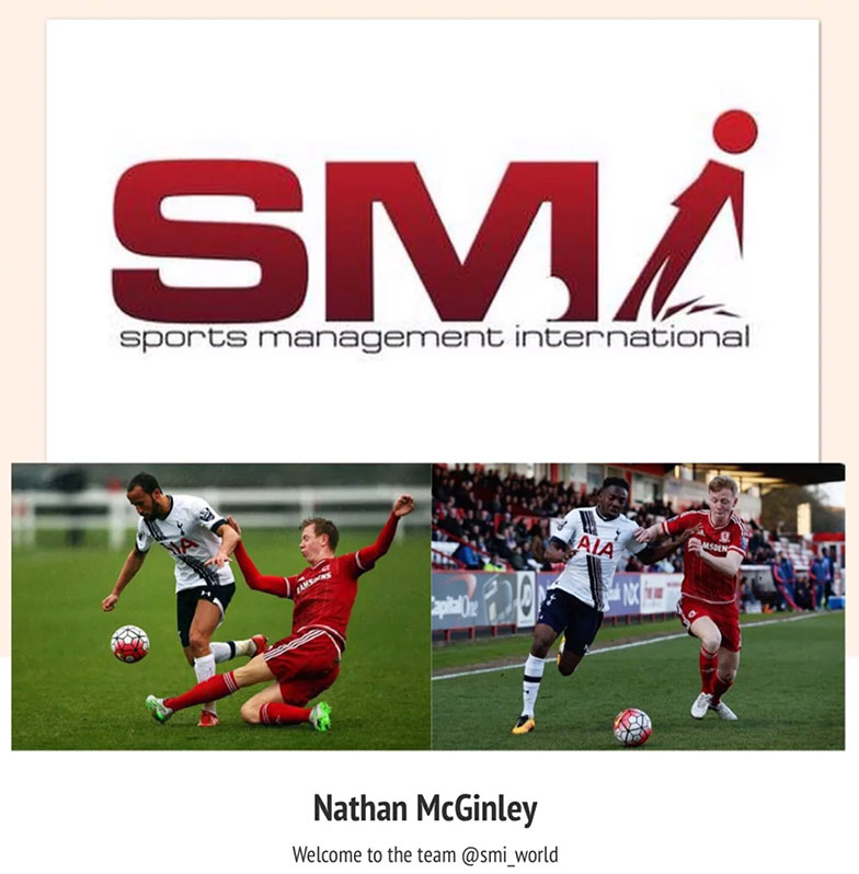 Nathan McGinley Welcome to SMI