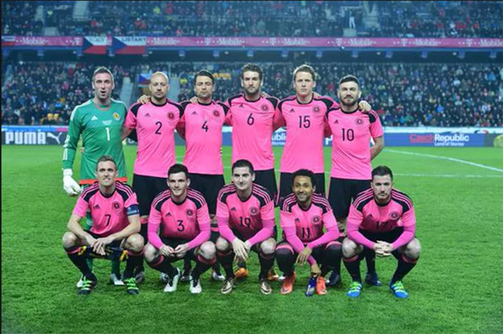 SMI's Russell Martin and Robert Snodgrass in action for Scotland