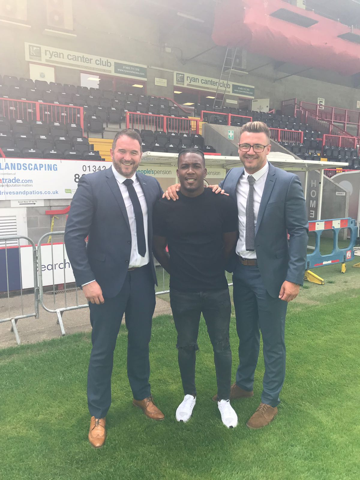 Dom Poleon signs for Crawley Town