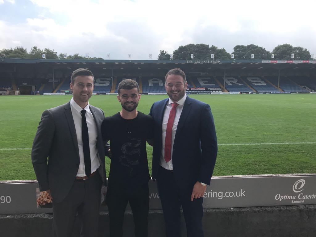 Dom Telford signs for Bury FC