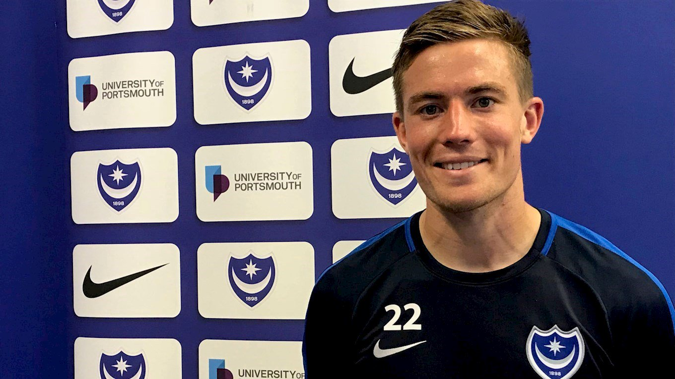 Wheeler signs for Pompey on loan