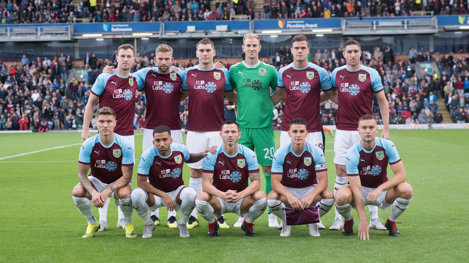 Gibson makes his Burnley and Europa League debut