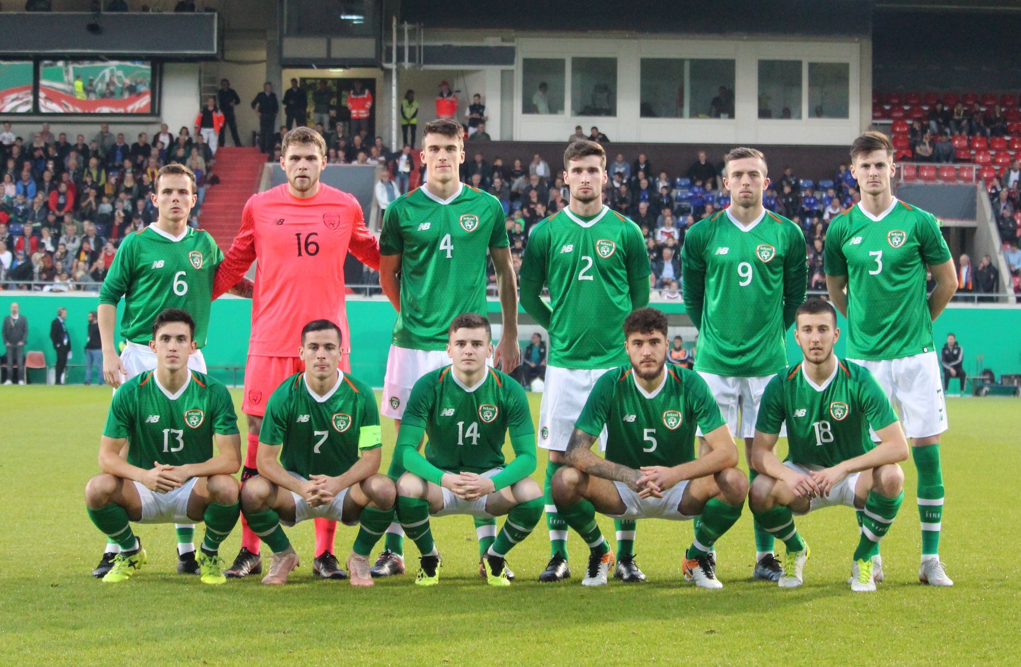 Sweeney represents Ireland U21s