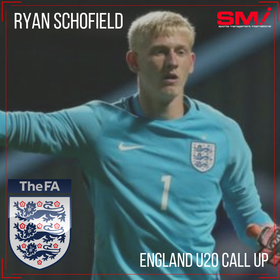 England U20 Call up for Ryan