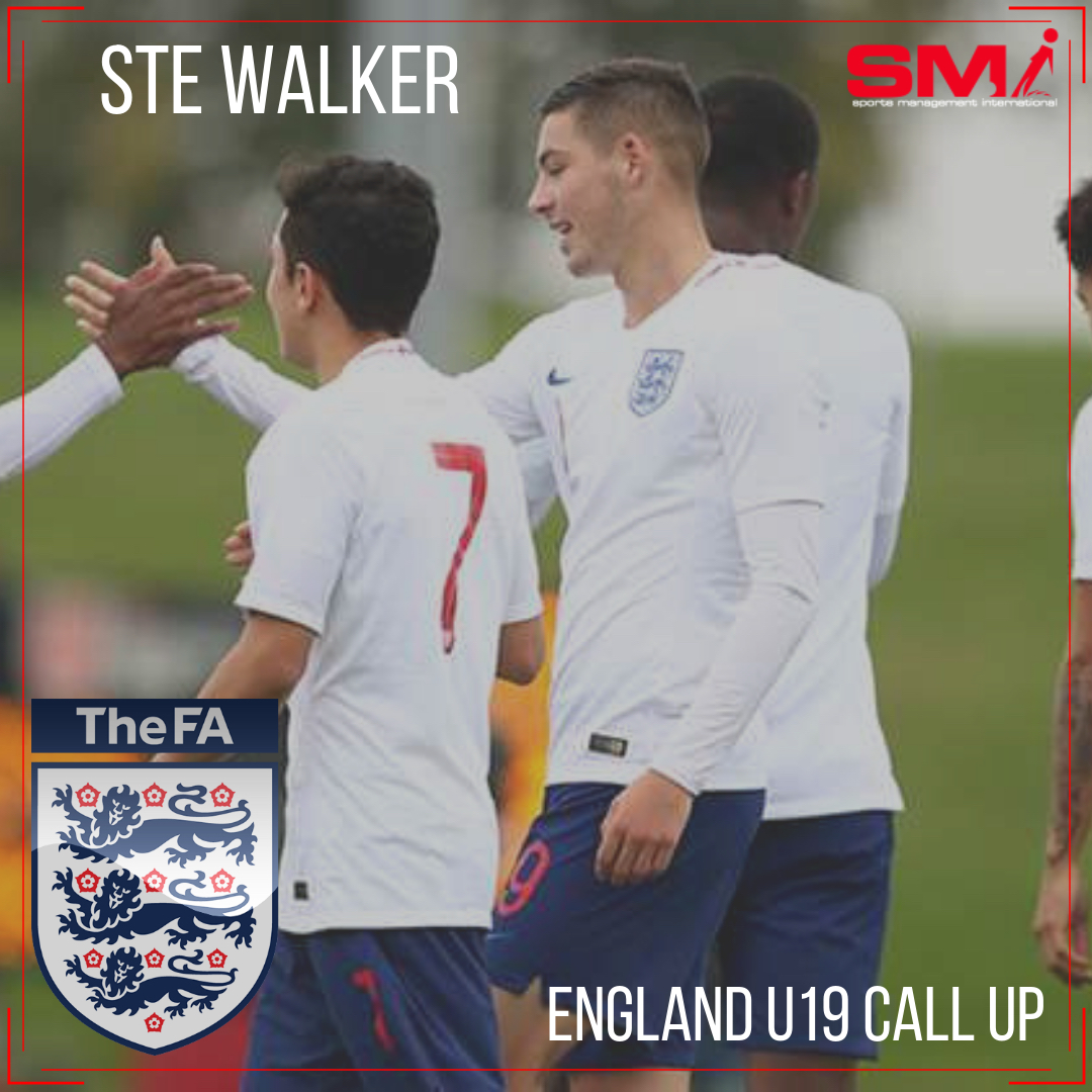 England u19 call up for Walker