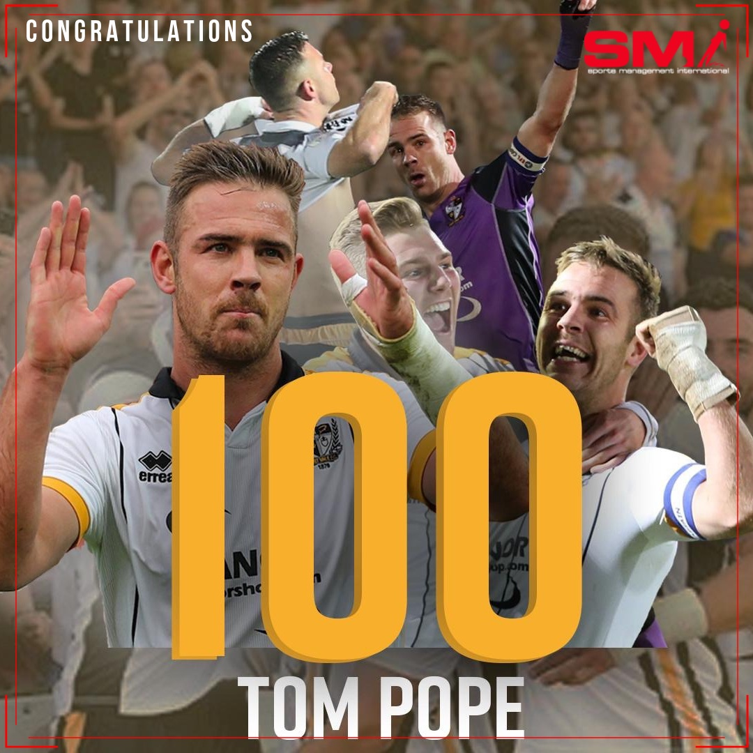 100 goals for Vale legend Pope