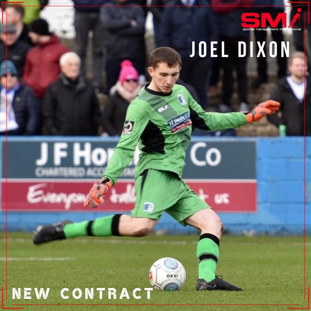 Joel Dixon signs new contract