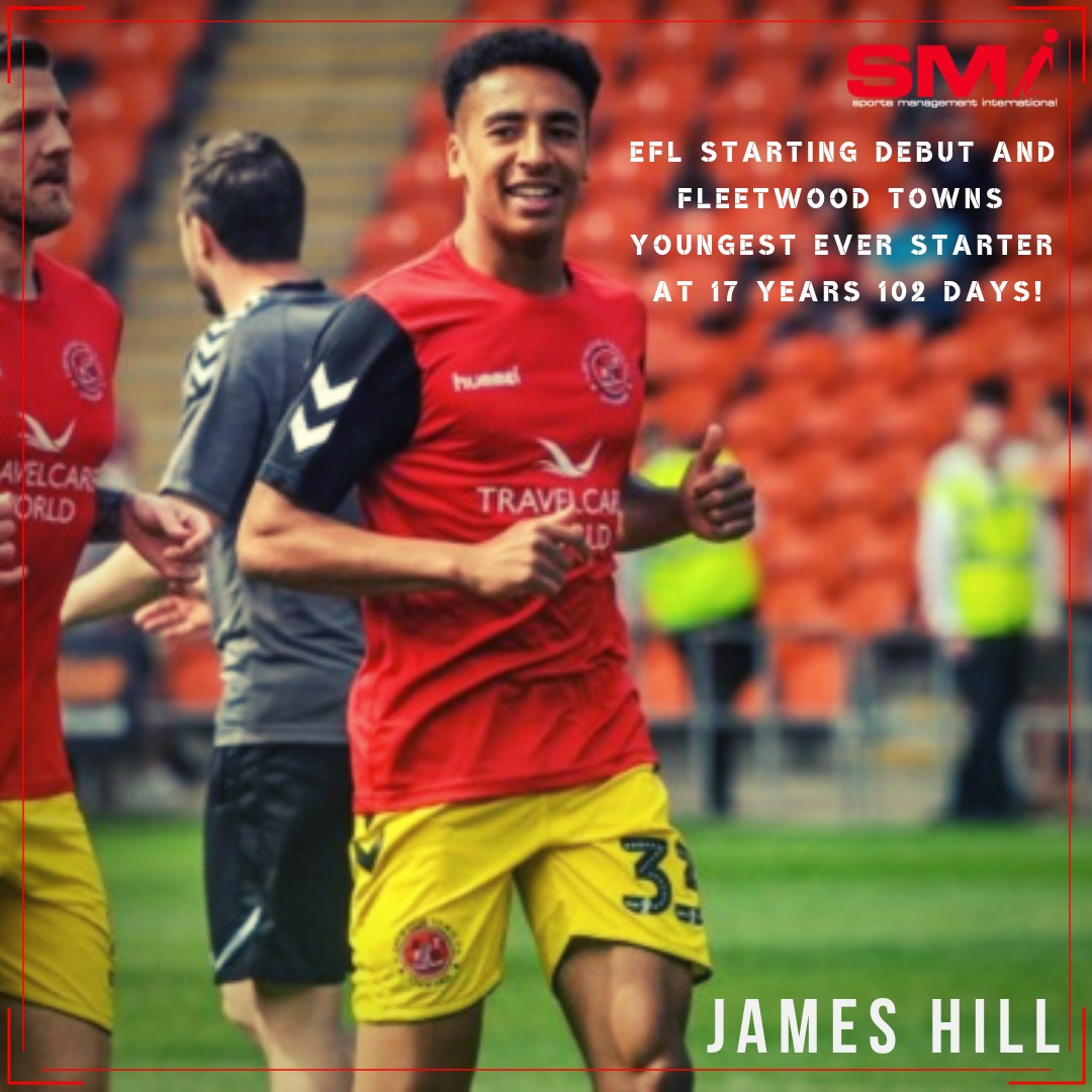 James Hill EFL Full debut
