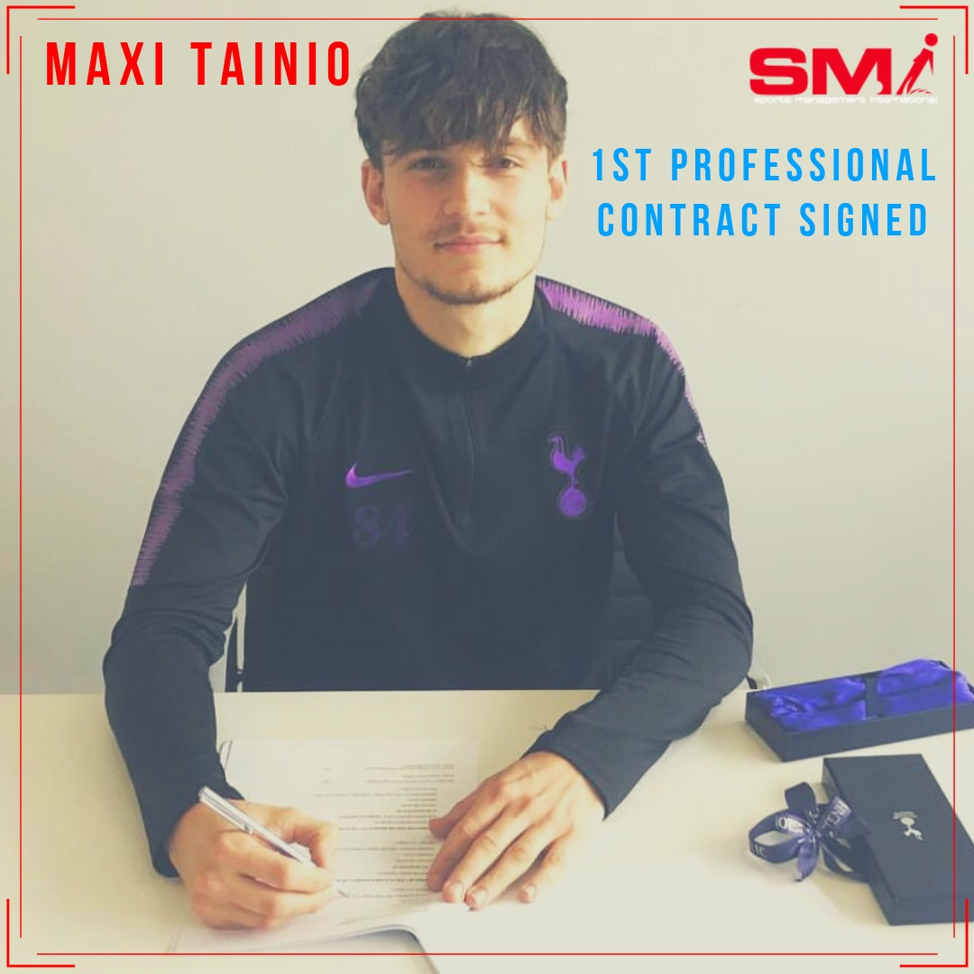 Maxi Tainio signs first pro deal