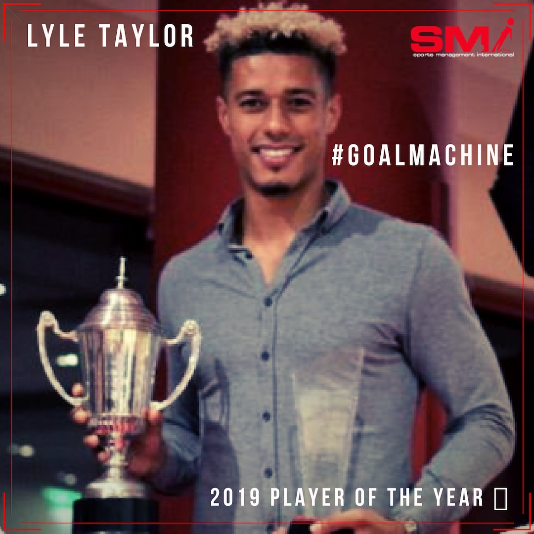 Lyle Taylor player of the season!!