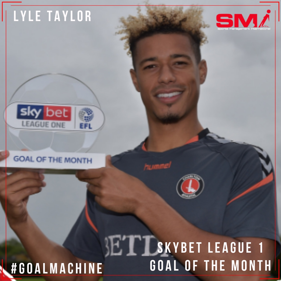 Lyle Taylor goal of the month