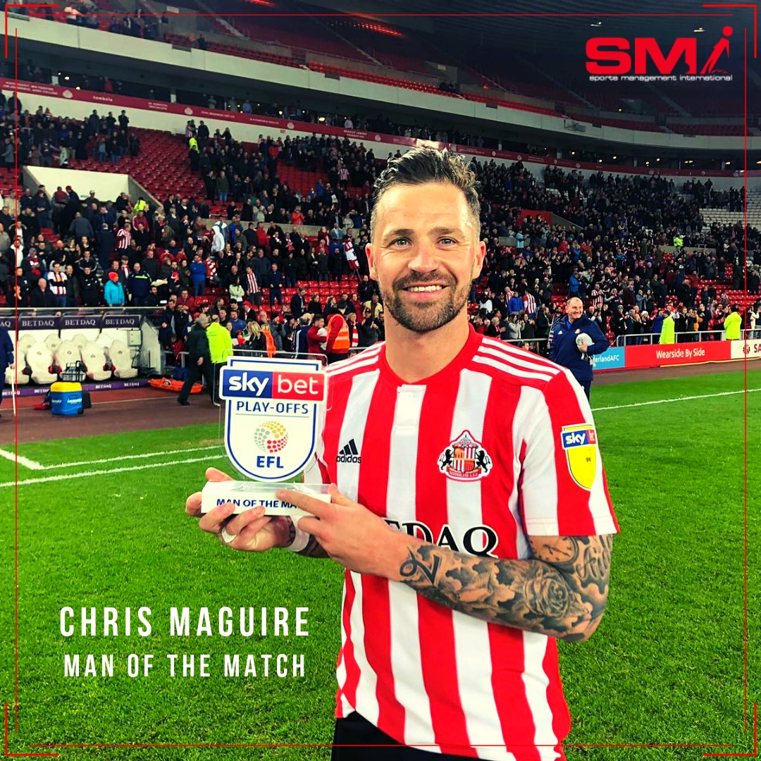 Chris Maguire MOTM