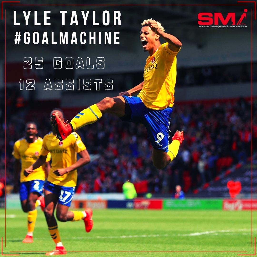 Lyle Taylor MOTM and now on 25 goals