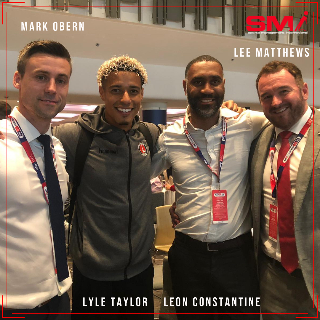 Lyle Taylor Championship here he comes