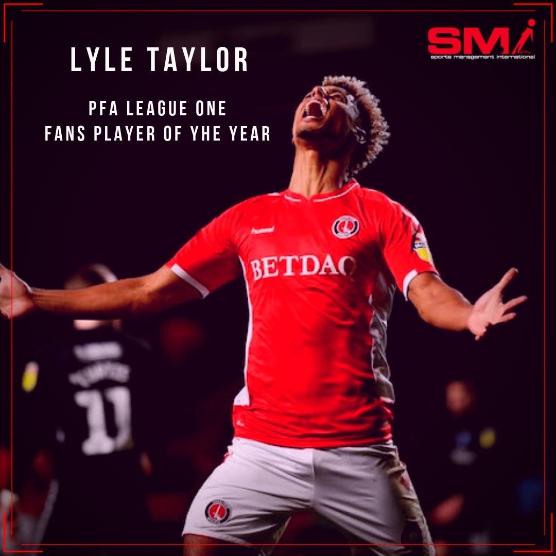 Lyle Taylor wins PFA Fans player of the season