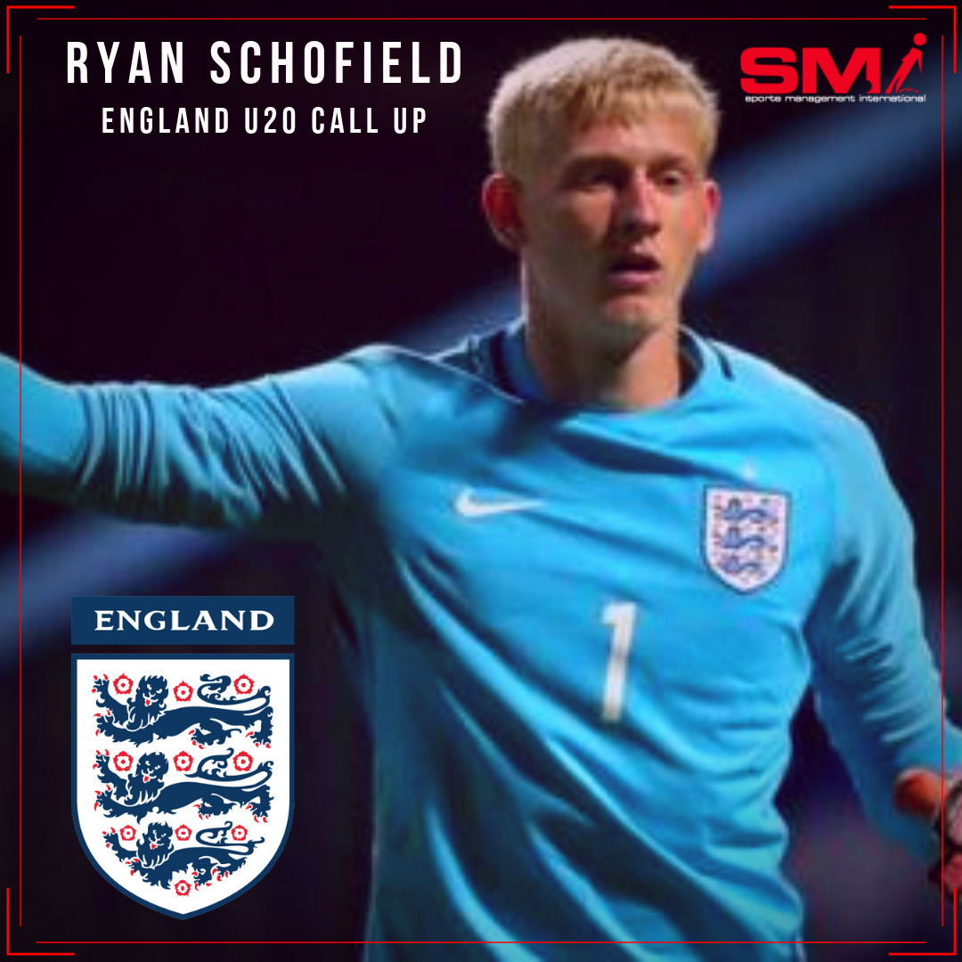 Ryan Schofield England U20 call up
