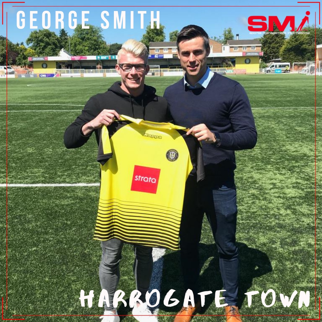George Smith signs for Harrogate Town