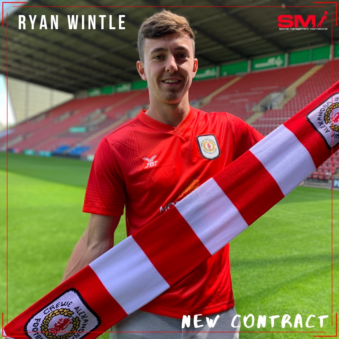 Ryan Wintle signs new contract with Crewe Alexandra