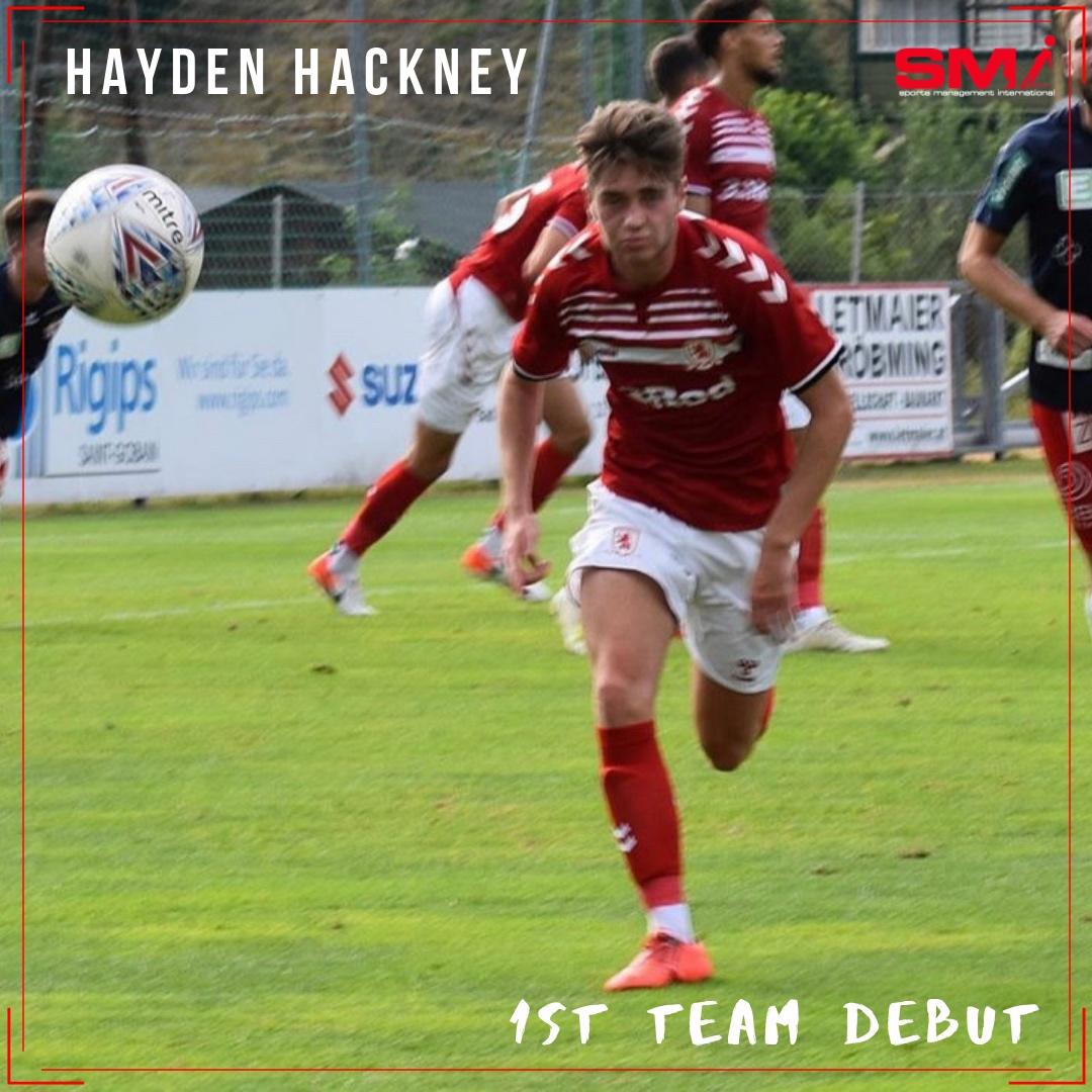Hayden Hackney 1st team debut