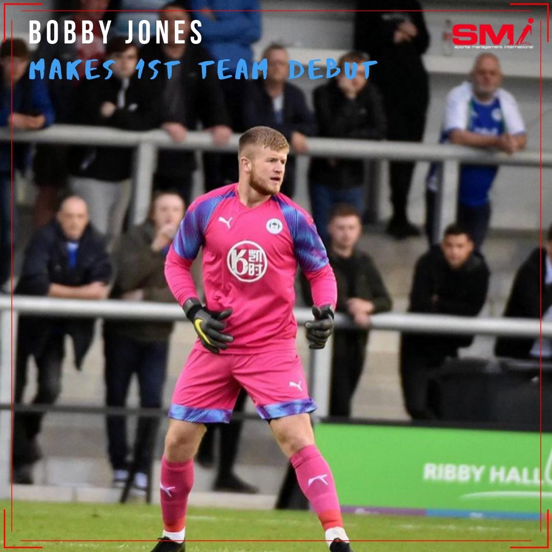 Bobby Jones makes Wigan debut