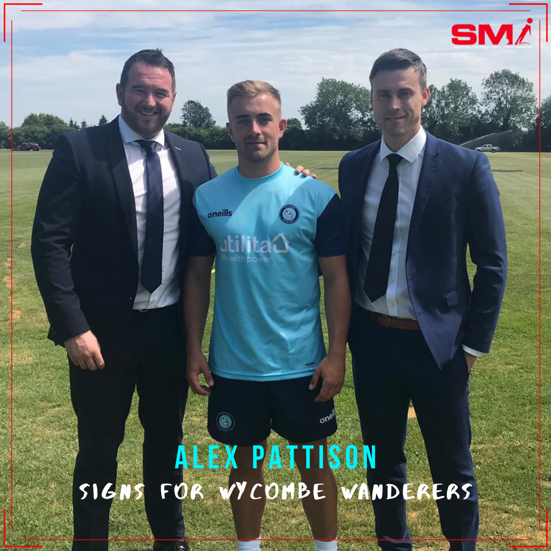 Alex Pattison signs for Wycombe