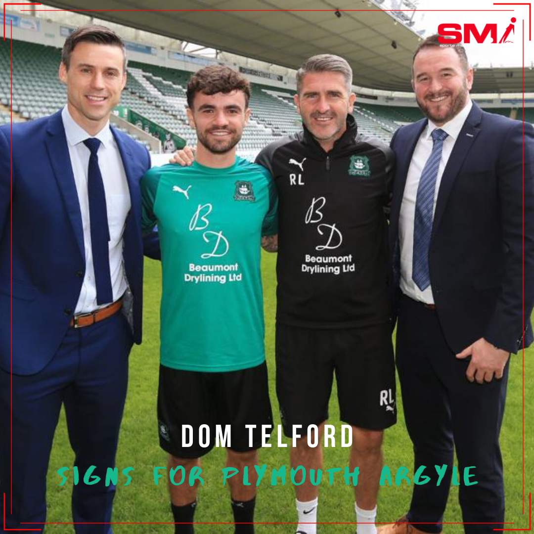 Dom Telford signs for Plymouth Argyle