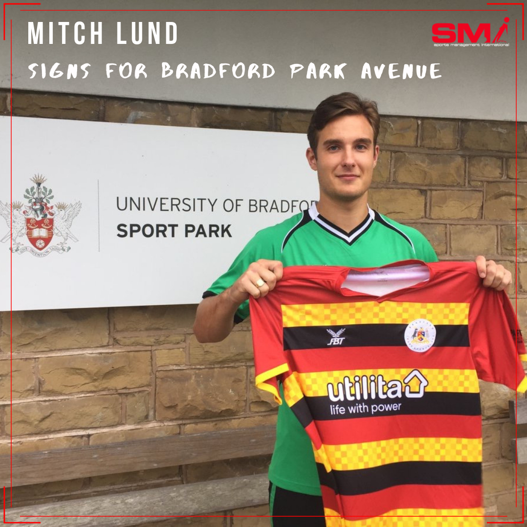 Mitch Lund signs for BPA