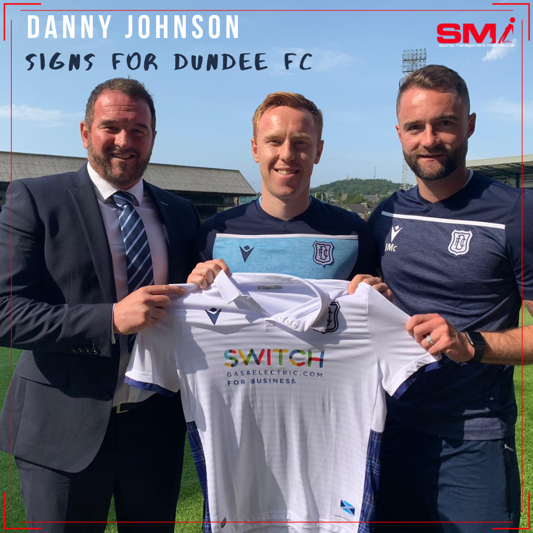 Danny Johnson signs for Dundee FC