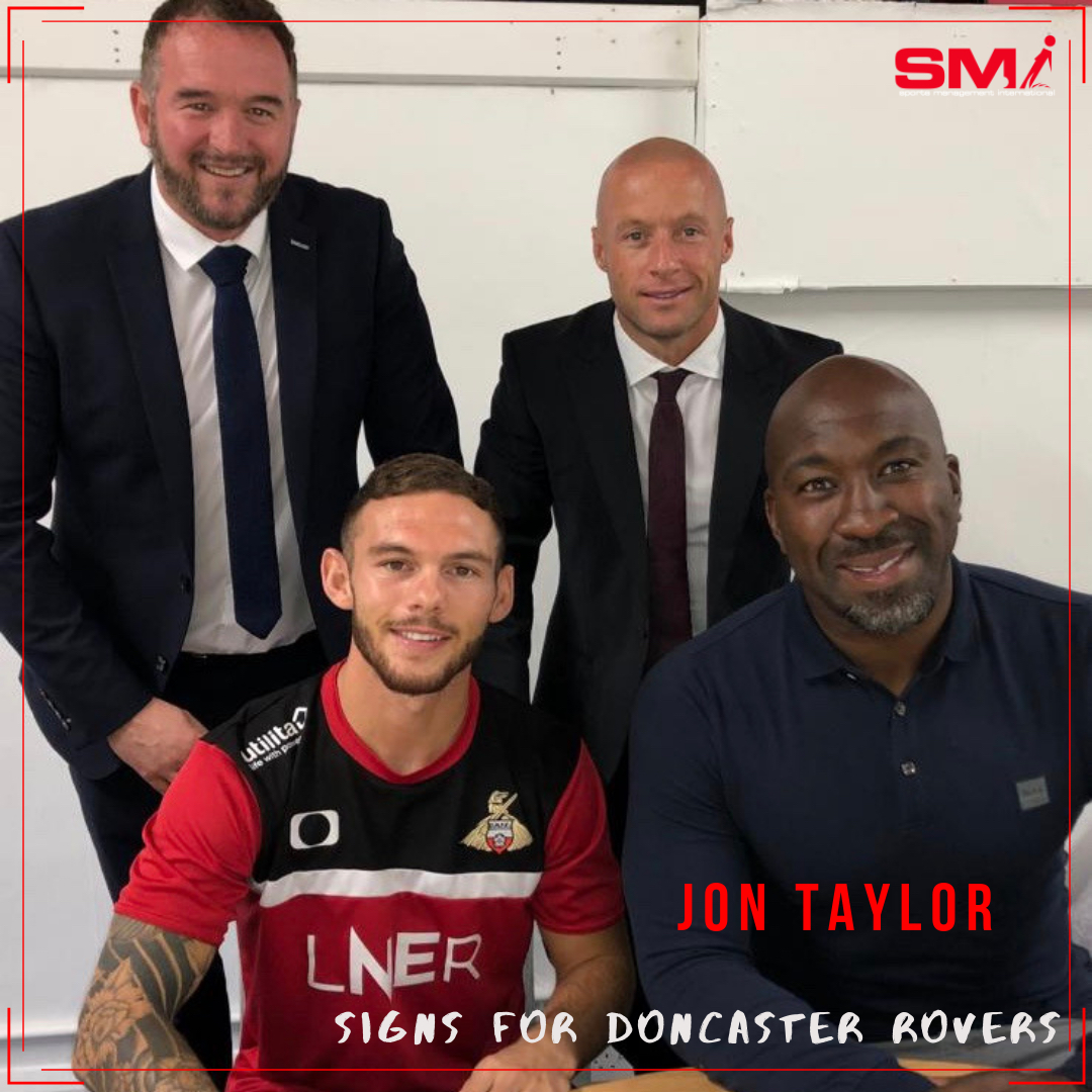Jon Taylor signs for Doncaster Rovers