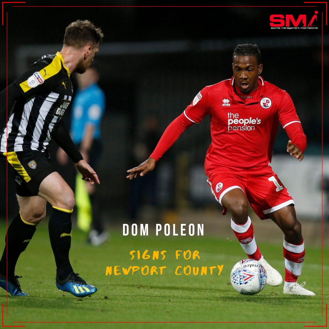 Dom Poleon signs for Newport