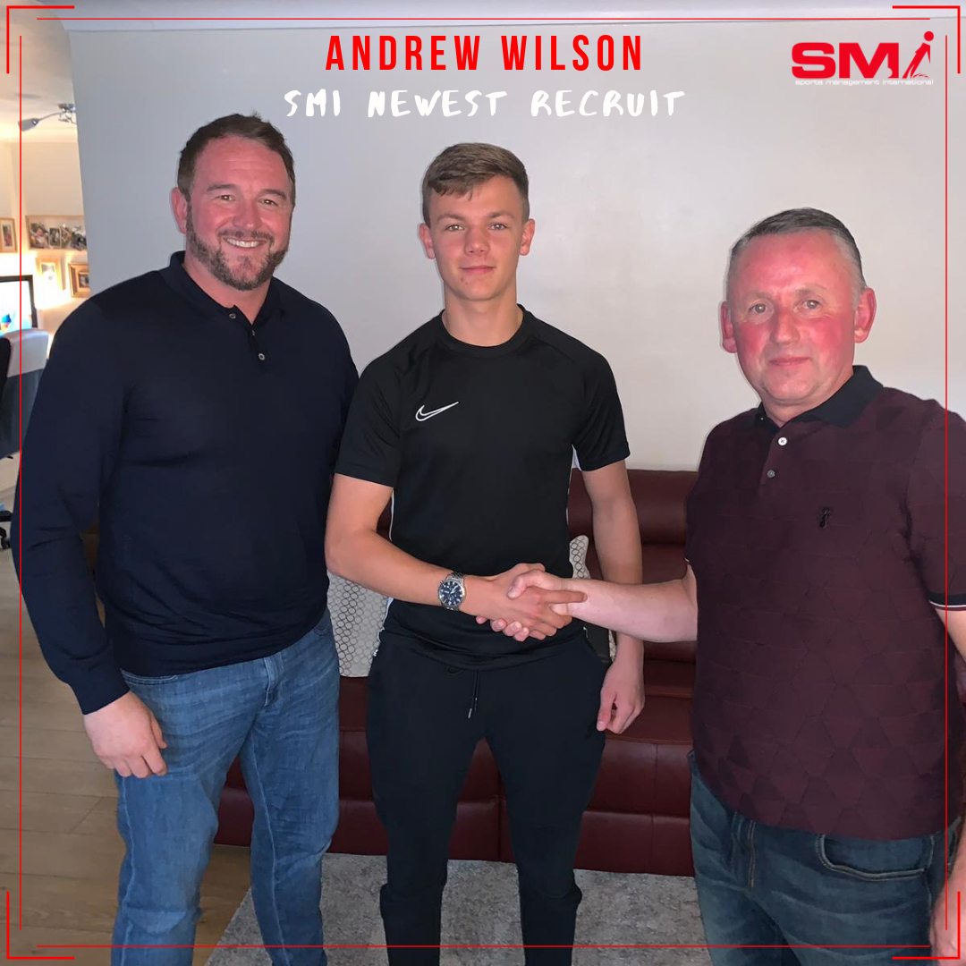 Andrew Wilson welcome aboard