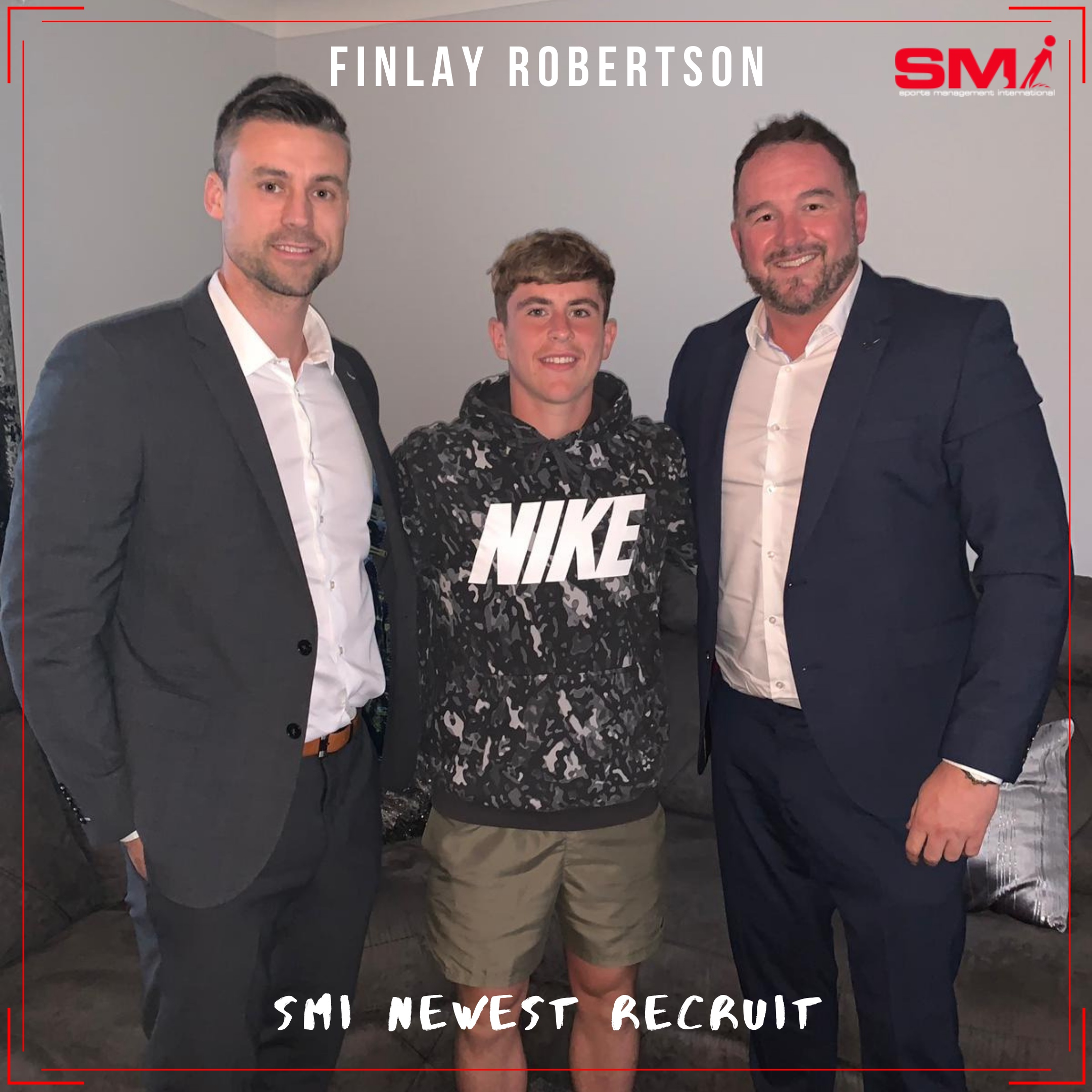Exciting new SMI recruit Finlay Robertson