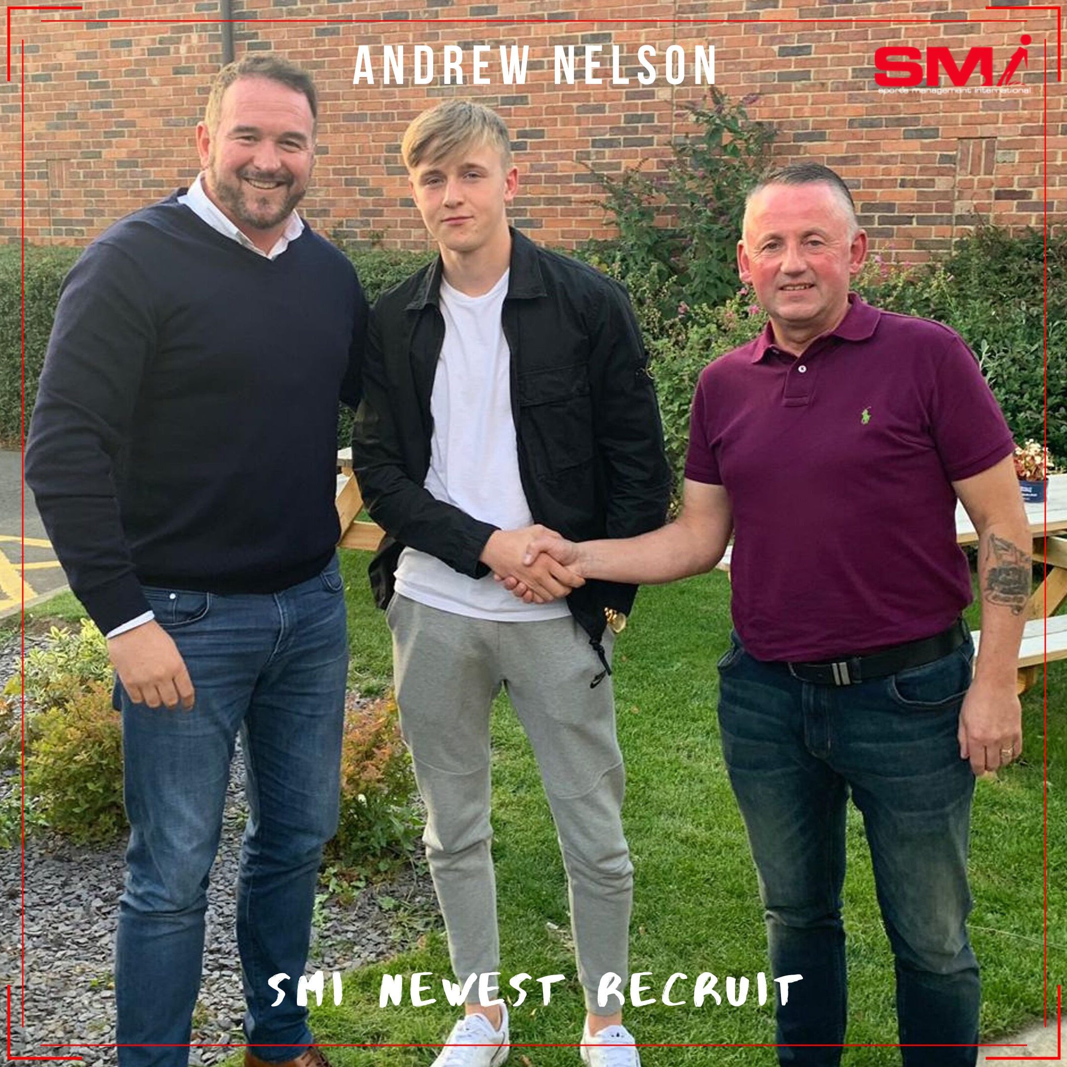 SMI New recruit Andrew Nelson