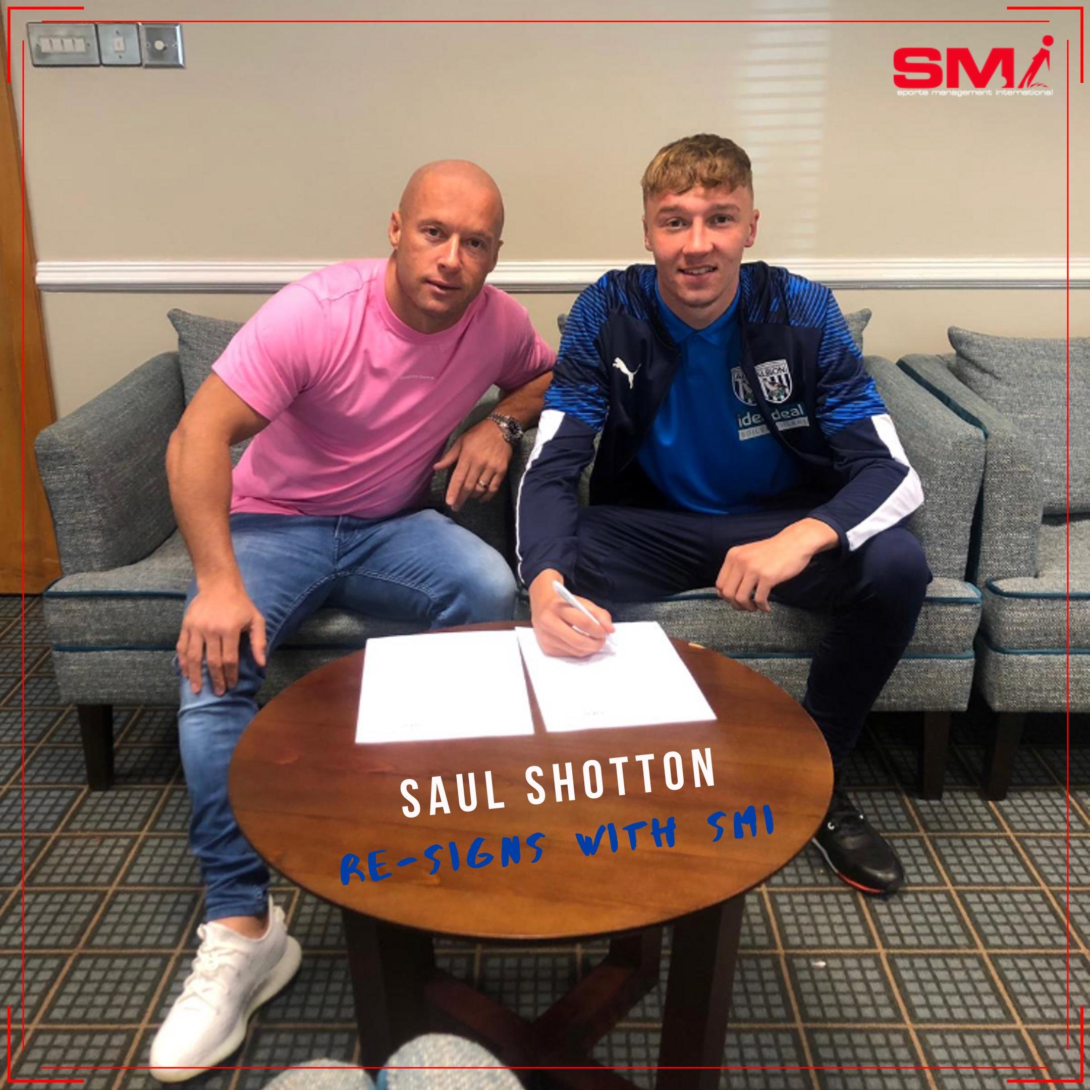 Saul Shotton re signs