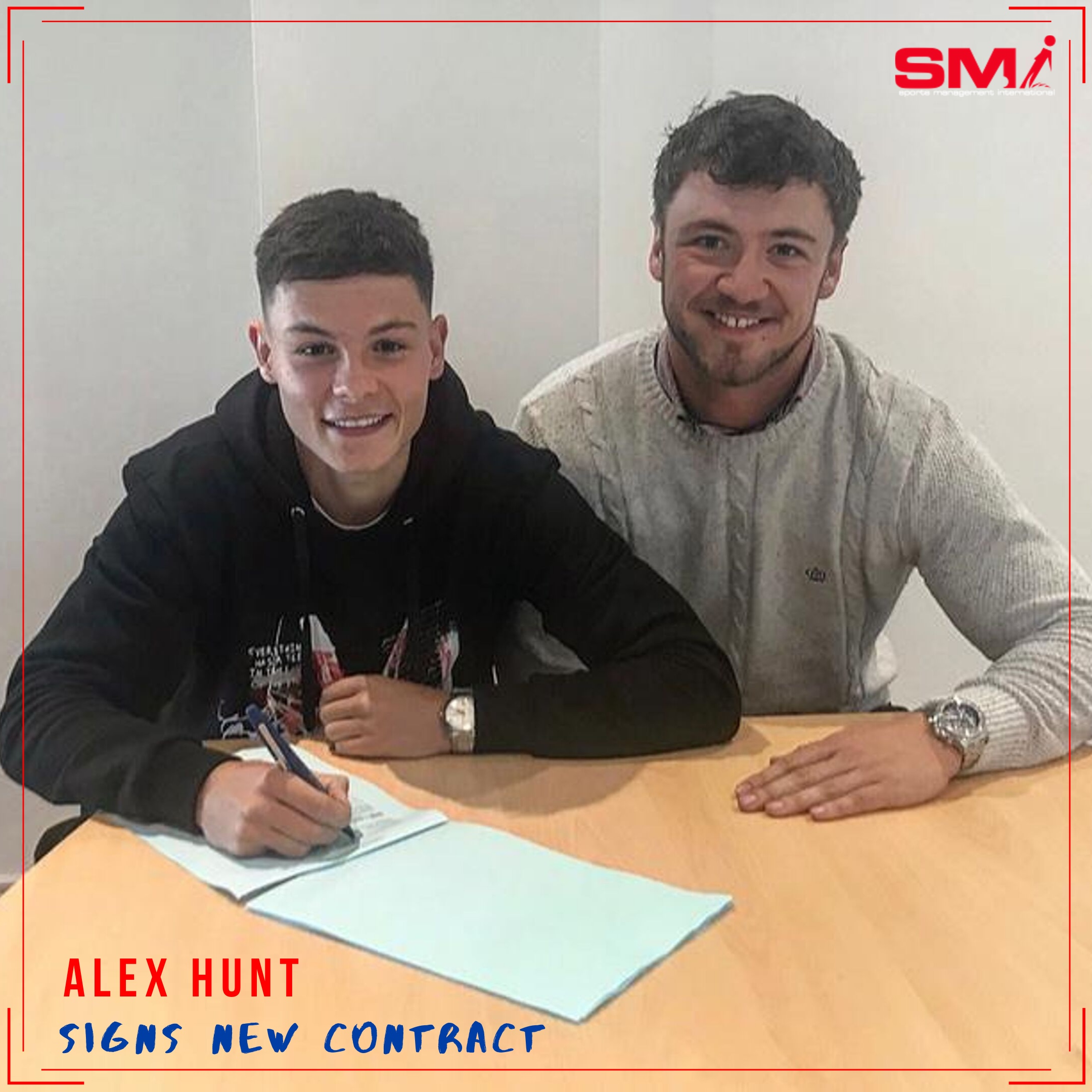 Alex Hunt contract extension