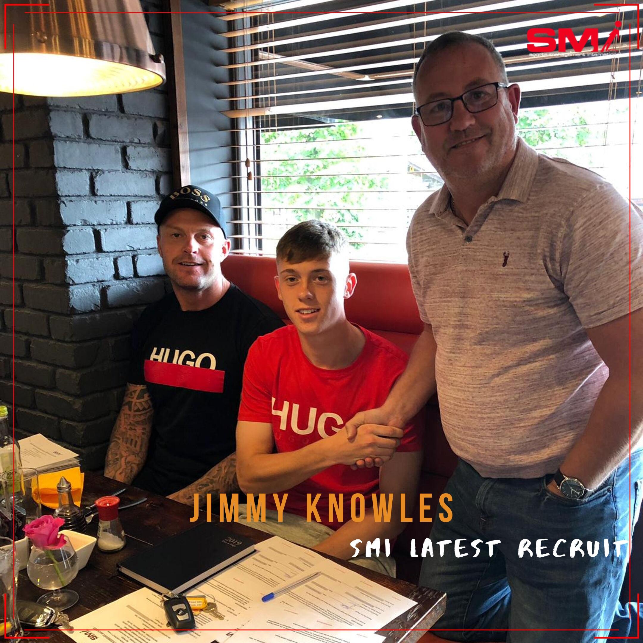 Jimmy Knowles SMI new recruit