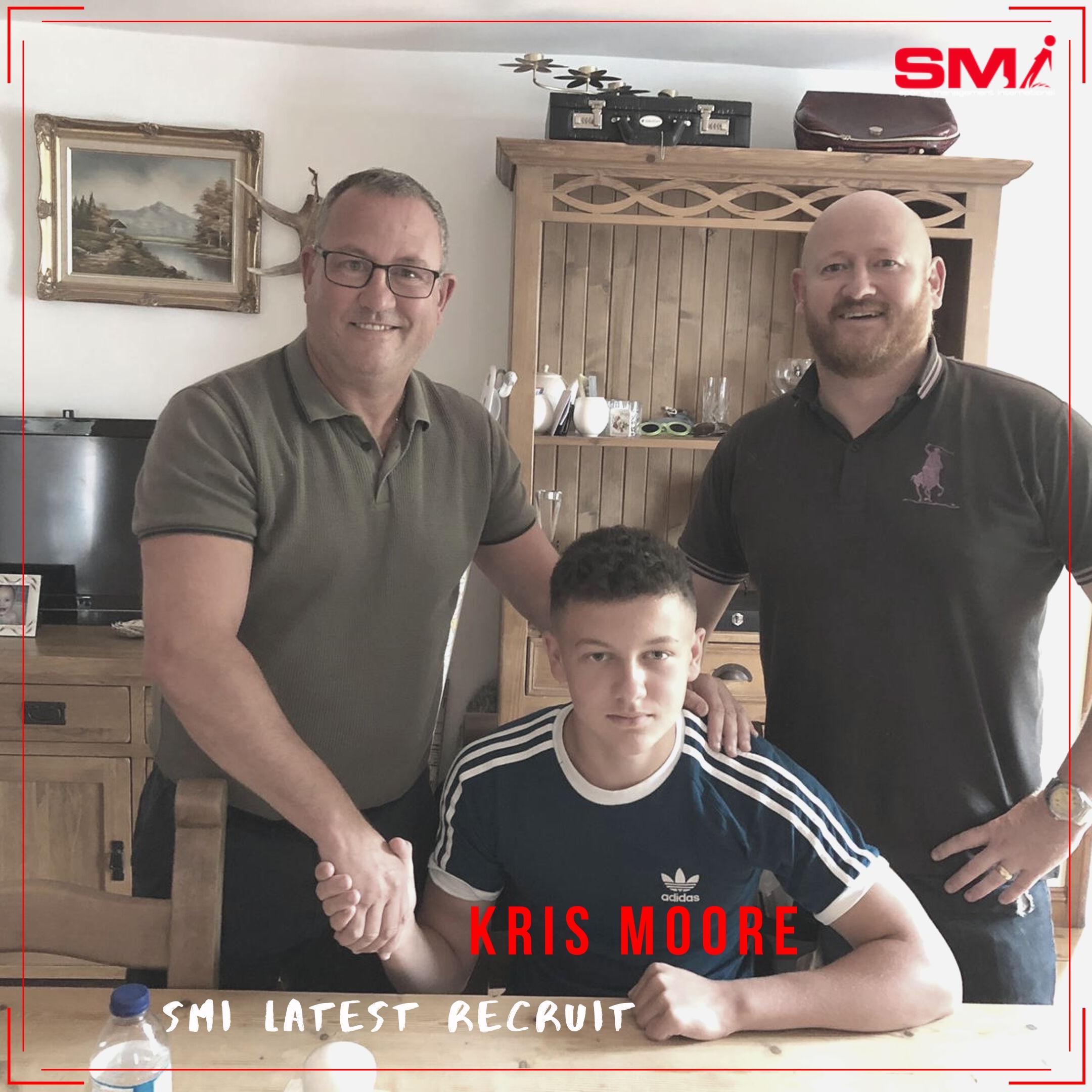 SMI new recruit Kris Moore