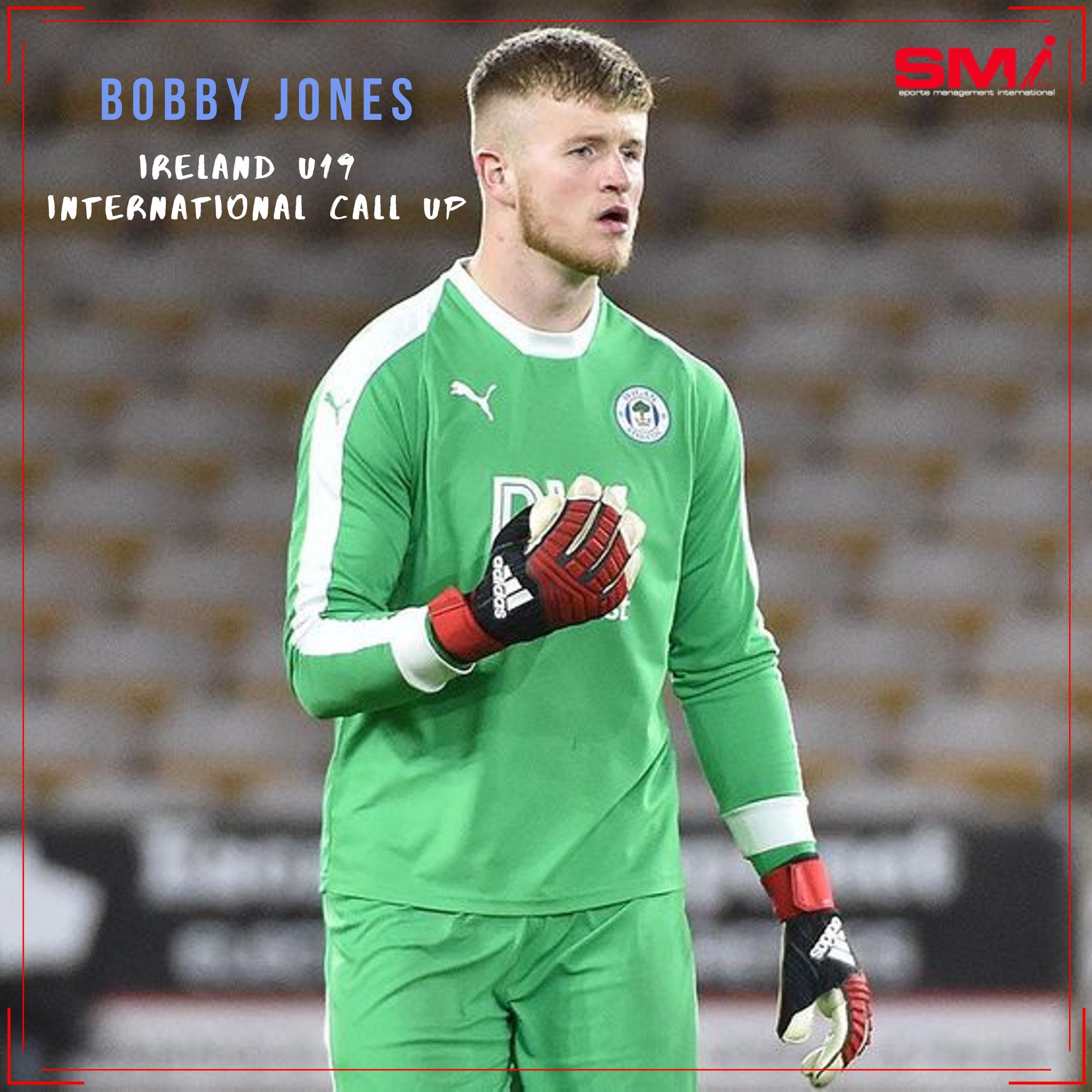 Bobby Jones Ireland u19 call up