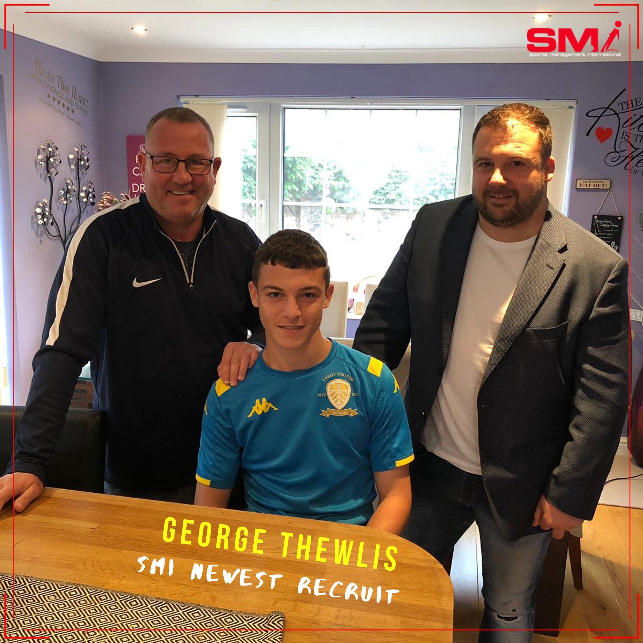 SMI Newest Recruit George Thewlis