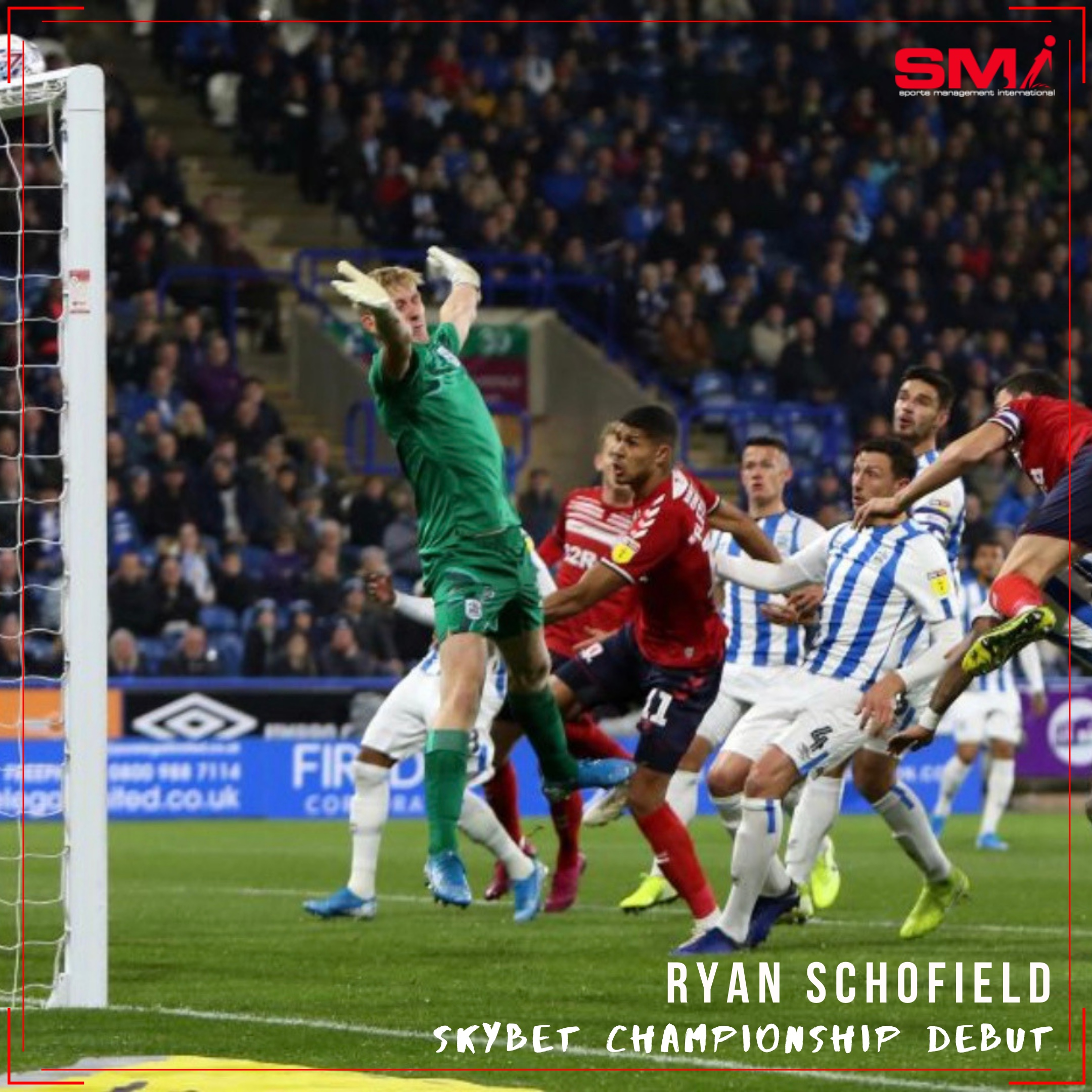 Ryan Schofield makes Championship debut