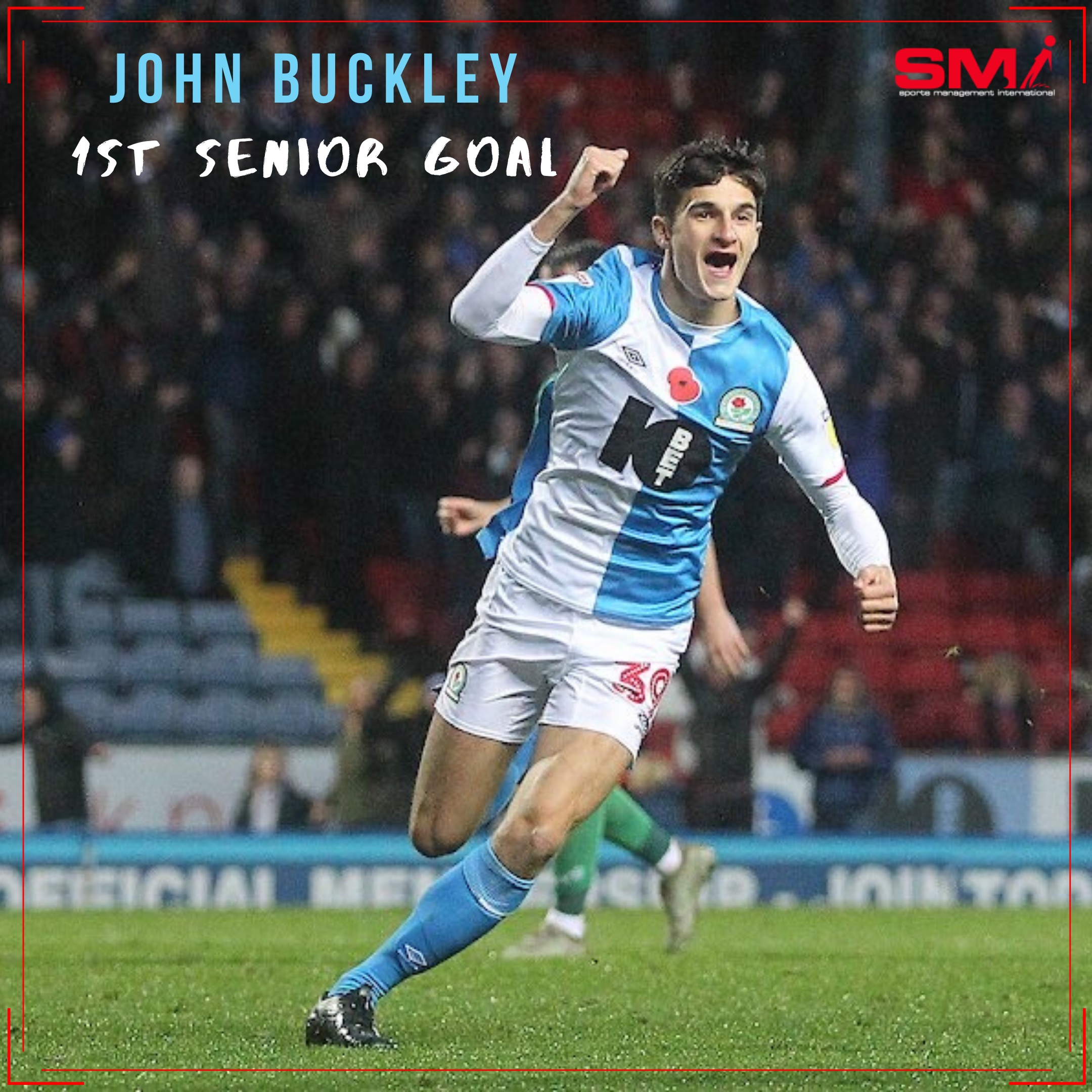 John Buckley scores first senior professional goal