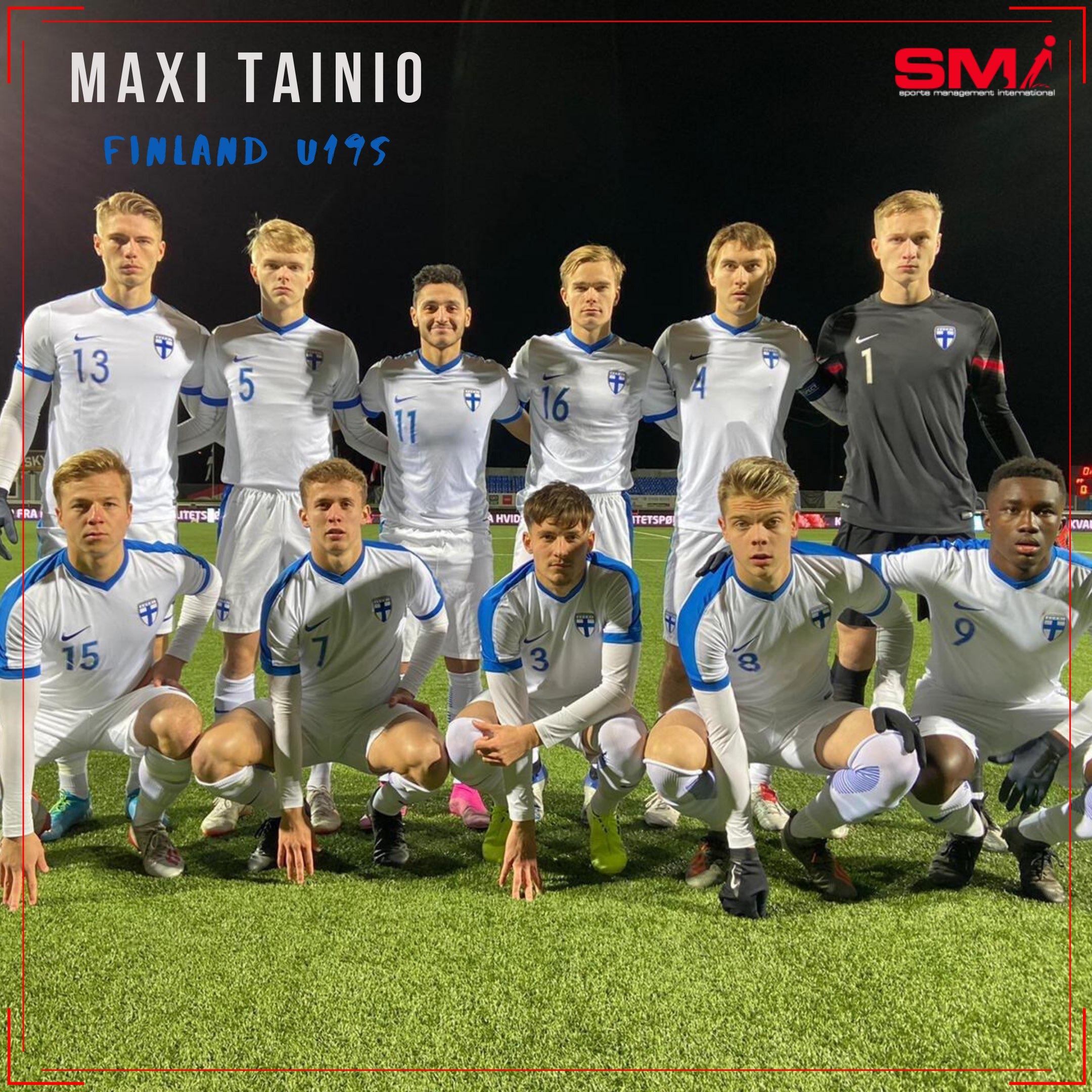 Maxi Tainio qualifies with Finland u19s
