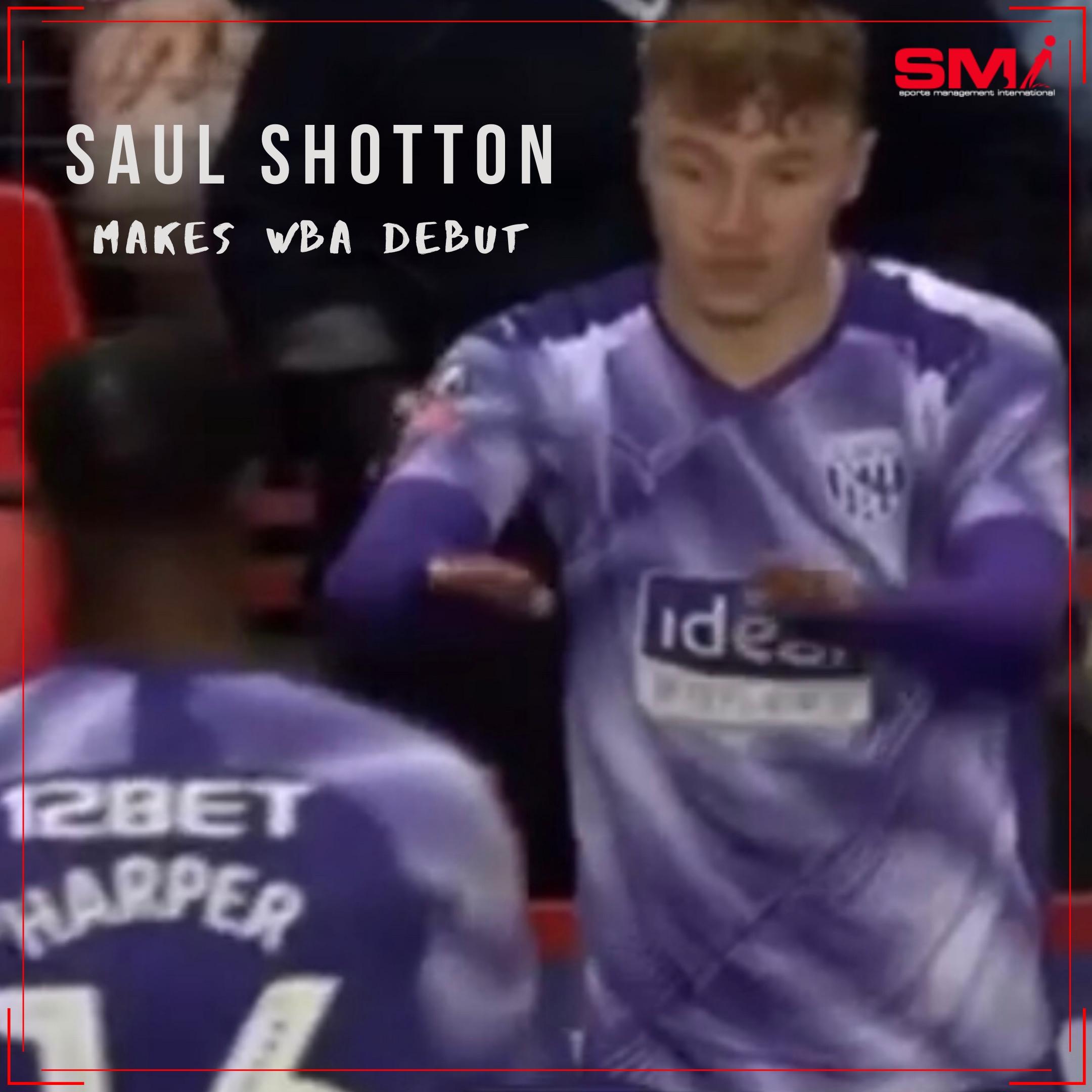 Saul Shotton makes his WBA debut